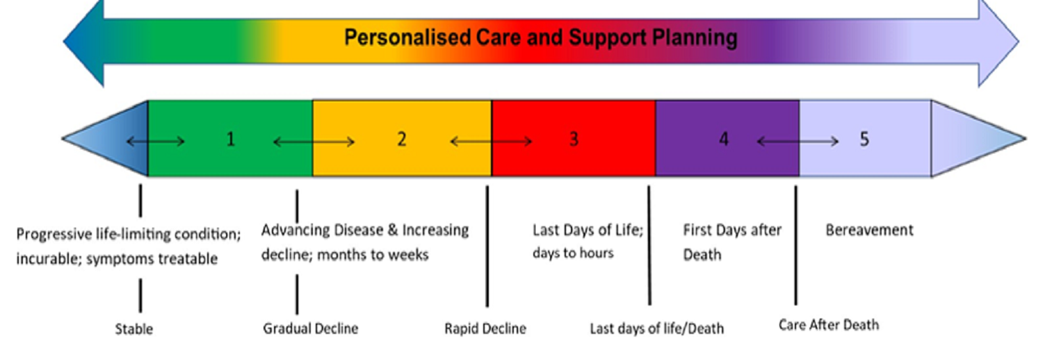 The updated North West Model for Life Limiting Conditions is now incorporated into the Six Steps Programme